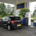 Volkswagen, Polo, BlueMotion, benzine, tankstation, diesel