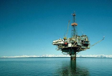 boorplatform, olie, oceaan, gas