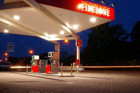 Firezone, benzinepomp, tankstation