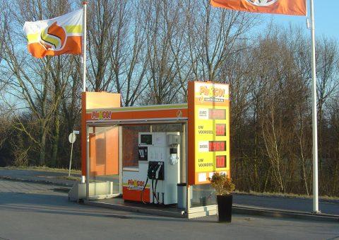 Pin&Go, tankstation
