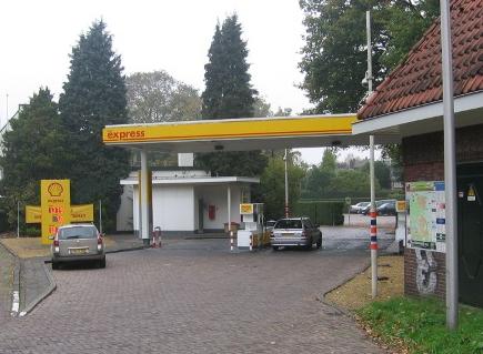 Shell, Baarn, tankstation