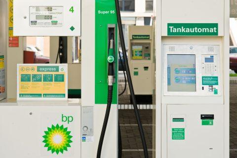 tankautomaat, BP, onbemand tankstation, tanken