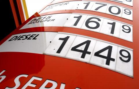 diesel prijzen tankstation
