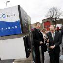 CNG aardgas vulpunt opening