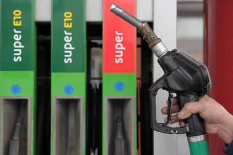 E10 tanken tankstation