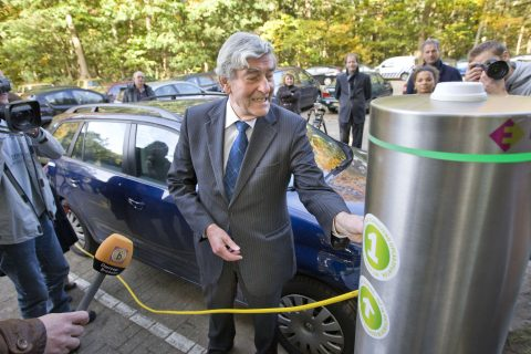 elektrisch opladen auto laadpunt