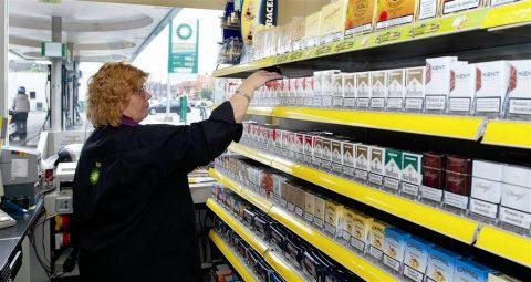 tabak tankshop tankstation pompshop omzet symphonyIRI softdrinks energy drinks