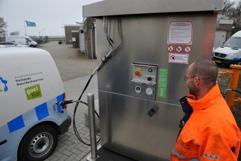 Ballast Nedam C20 CNG tankstation