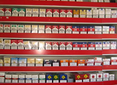 Sigaretten, tabak