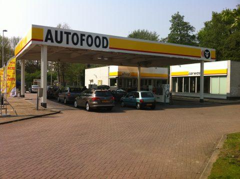 Autofood, tankstation, krimpen ad IJssel, wasstraat