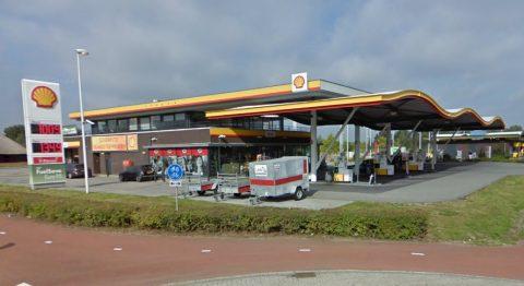 automaas shell tankstation