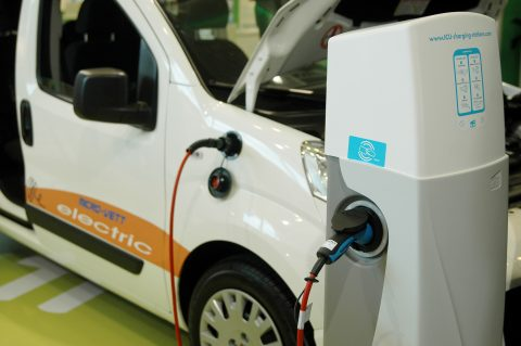 electrische auto, tanken, opladen