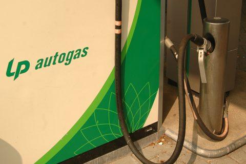LPG gas autogas tanken