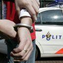 dief, arrestatie, handboeien, politie