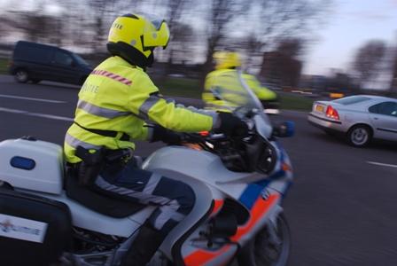 politie, motor