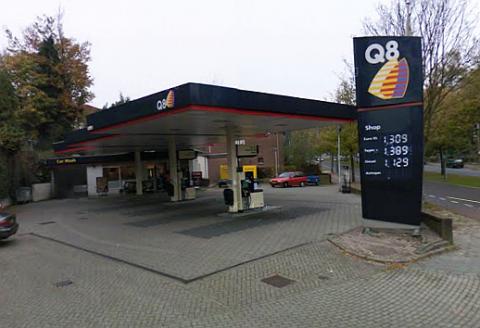Q8, arnhem, tankstation