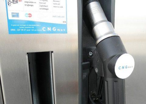 CNG, aardgas, vulpunt