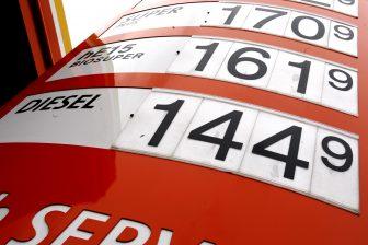 tankstation, benzineprijs