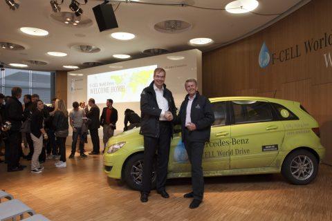Mercedes-Benz, Linde, waterstof, brandstofcel