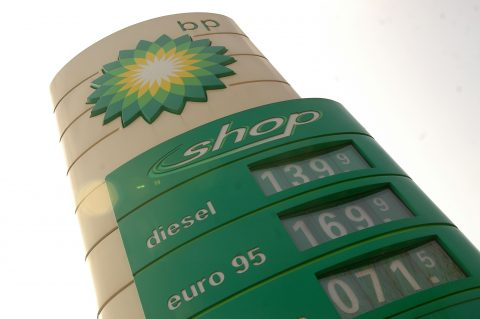 midsign, bp, benzineprijs