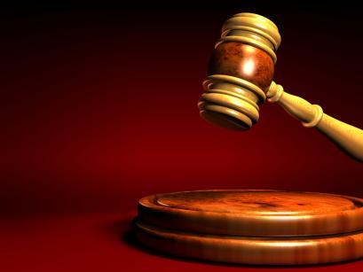rechtbank, hamer