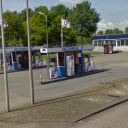 rotonde, onbemand tankstation, sliedrecht
