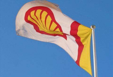 shell, vlag