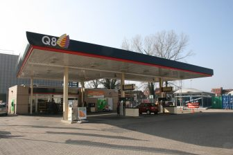 Q8 Haarlem, tankstation, benzinepomp