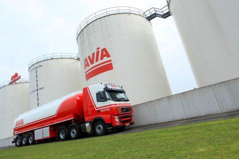 weghorst avia, vrachtwagen, combintie, depot