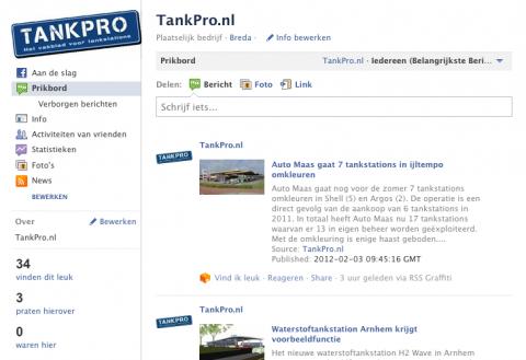 TankPro, Facebook