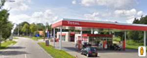 Total tankstation werkhorst