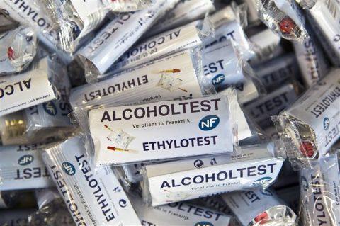Alcoholtest Frankrijk