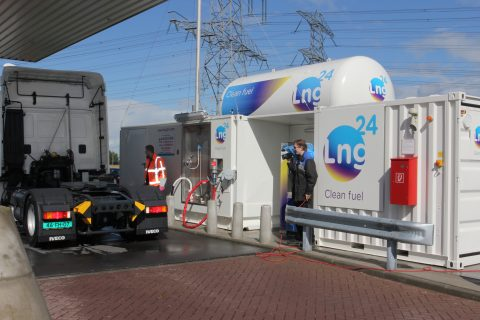 LNG tankstation Ballast Nedam