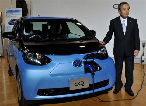 Toyota, elektrische auto, eQ
