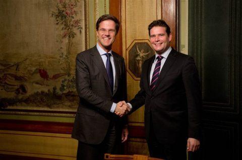 Mark Rutte, Frans Weekers, Financiën, VVD