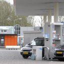 postpakketautomaat, esso tankstation