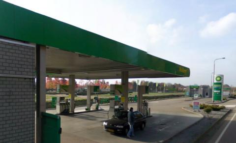 BP-tankstation Maasbree, Bij-Maas