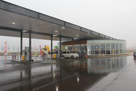 Tholen tankstation Shell