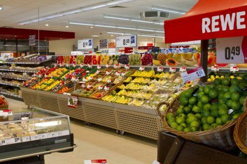 Rewe, supermarkt, retail