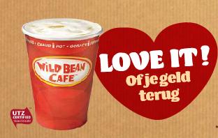 BP, Wild Bean Cafe, Love it of je geld terug, actie, koffie