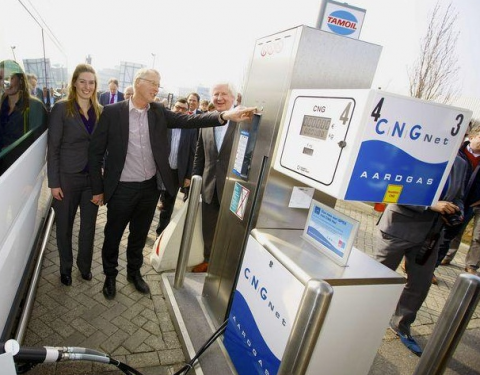 CNG Net, Zaltbommel, tankstation, opening, aardgas, groengas