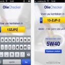 olie, checker, app