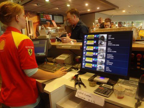 Shell, Auto Alert, Big Brother, doorrijder, kentekenplaat, RDW-gegevens, tankstation, kassa