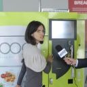 Bicom, vending machine, Francesca Barbieri, hot meal, food