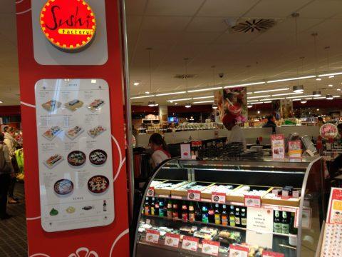 Sushi Factory, shop-in-shop