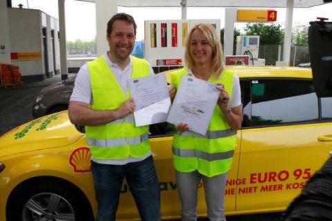 Henk en Marianne Timmer, Shell FuelSave Driving Challenge