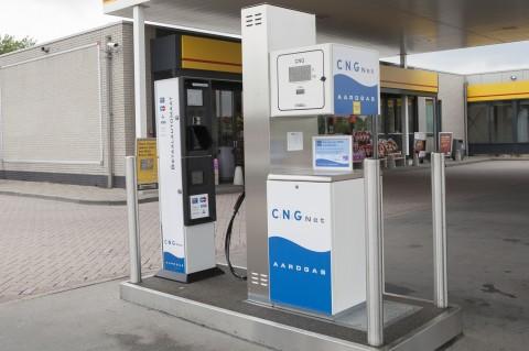 CNG Net, aardgas, tankstation, groengas