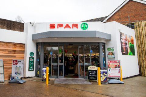 SPAR, Parkfoot, shop, tankstation