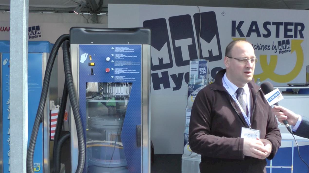 Stofzuiger in kast met automatische filterreiniging voor carwash   TankPro nl