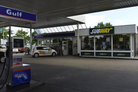 subway, gulf, tankstation, shop-in-shop